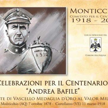 Celebrazioni Centenario A.Bafile